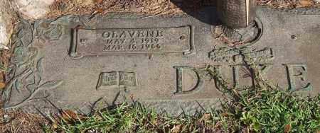 DUKE, OLAVENE - Saline County, Arkansas | OLAVENE DUKE - Arkansas Gravestone Photos