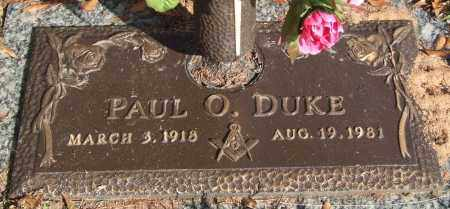 DUKE, PAUL O. - Saline County, Arkansas | PAUL O. DUKE - Arkansas Gravestone Photos