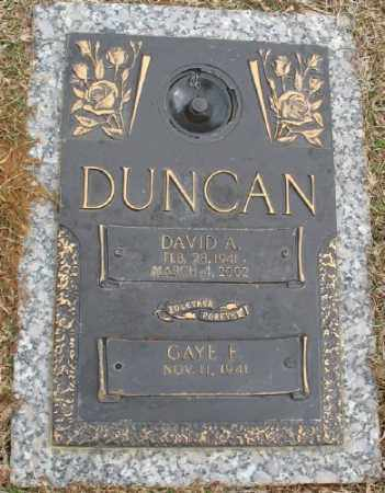 DUNCAN, DAVID A. - Saline County, Arkansas | DAVID A. DUNCAN - Arkansas Gravestone Photos