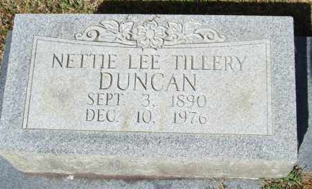 DUNCAN, NETTIE LEE - Saline County, Arkansas | NETTIE LEE DUNCAN - Arkansas Gravestone Photos