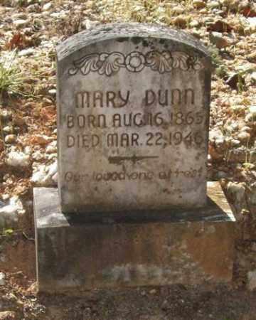 DUNN, MARY - Saline County, Arkansas | MARY DUNN - Arkansas Gravestone Photos