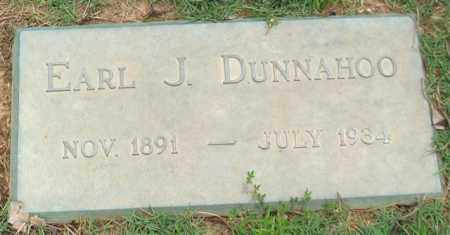DUNNAHOO, EARL J. - Saline County, Arkansas | EARL J. DUNNAHOO - Arkansas Gravestone Photos