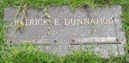 DUNNAHOO, PATRICK E. - Saline County, Arkansas | PATRICK E. DUNNAHOO - Arkansas Gravestone Photos