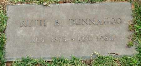 DUNNAHOO, RUTH B. - Saline County, Arkansas | RUTH B. DUNNAHOO - Arkansas Gravestone Photos