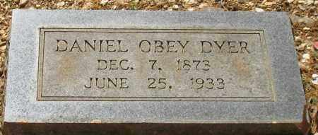 DYER, DANIEL OBEY - Saline County, Arkansas | DANIEL OBEY DYER - Arkansas Gravestone Photos