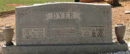 JAMES DYER, HATTIE LEE - Saline County, Arkansas | HATTIE LEE JAMES DYER - Arkansas Gravestone Photos