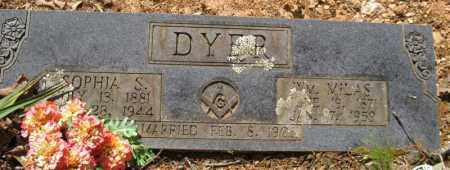DYER, WILLIAM MILAS - Saline County, Arkansas | WILLIAM MILAS DYER - Arkansas Gravestone Photos