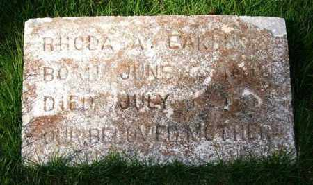 EAKENS, RHODA A. - Saline County, Arkansas | RHODA A. EAKENS - Arkansas Gravestone Photos