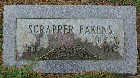 EAKENS, SCRAPPER - Saline County, Arkansas | SCRAPPER EAKENS - Arkansas Gravestone Photos