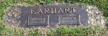 EARHART, HARRY W. - Saline County, Arkansas | HARRY W. EARHART - Arkansas Gravestone Photos