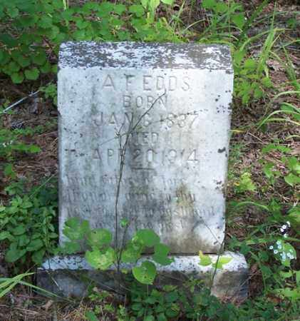 EDDS, A. F. - Saline County, Arkansas | A. F. EDDS - Arkansas Gravestone Photos