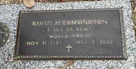 EDMONDSON (VETERAN WWII), RUFUS H - Saline County, Arkansas | RUFUS H EDMONDSON (VETERAN WWII) - Arkansas Gravestone Photos