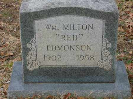 "EDMONSON, WM. MILTON ""RED"" - Saline County, Arkansas 