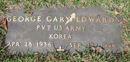 EDWARDS (VETERAN KOR), GEORGE GARY - Saline County, Arkansas | GEORGE GARY EDWARDS (VETERAN KOR) - Arkansas Gravestone Photos