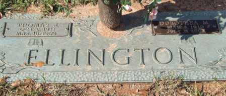 ELLINGTON, THOMAS J. - Saline County, Arkansas | THOMAS J. ELLINGTON - Arkansas Gravestone Photos