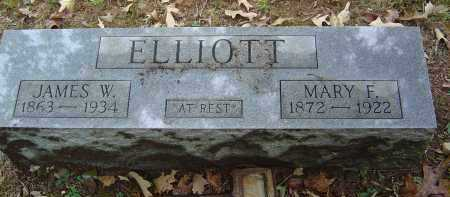 DODD ELLIOTT, MARY FRANCES - Saline County, Arkansas | MARY FRANCES DODD ELLIOTT - Arkansas Gravestone Photos