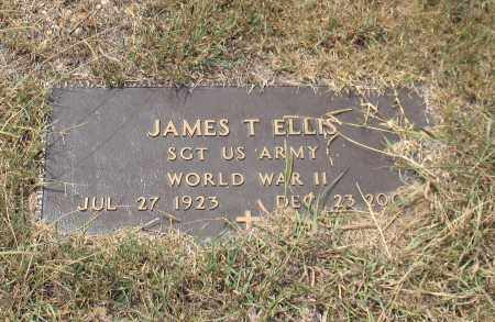 ELLIS (VETERAN WWII), JAMES TROY - Saline County, Arkansas | JAMES TROY ELLIS (VETERAN WWII) - Arkansas Gravestone Photos