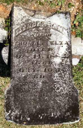 ELZA, ELENDER ANN - Saline County, Arkansas | ELENDER ANN ELZA - Arkansas Gravestone Photos