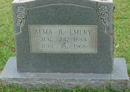 EMERY, ALMA B. - Saline County, Arkansas | ALMA B. EMERY - Arkansas Gravestone Photos