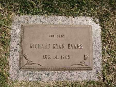 EVANS, RICHARD RYAN - Saline County, Arkansas | RICHARD RYAN EVANS - Arkansas Gravestone Photos
