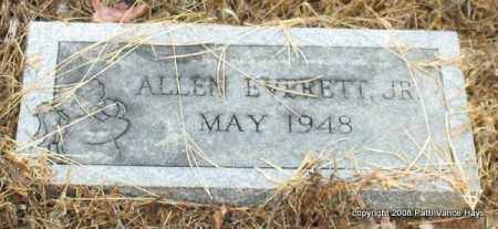 EVERETT, JR., ALLEN - Saline County, Arkansas | ALLEN EVERETT, JR. - Arkansas Gravestone Photos