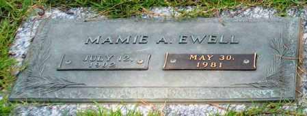 EWELL, MAMIE A. - Saline County, Arkansas | MAMIE A. EWELL - Arkansas Gravestone Photos
