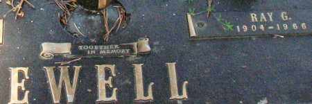 EWELL, RAY G. (CLOSEUP) - Saline County, Arkansas   RAY G. (CLOSEUP) EWELL - Arkansas Gravestone Photos