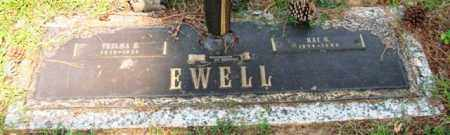 FORD EWELL, THELMA E. - Saline County, Arkansas | THELMA E. FORD EWELL - Arkansas Gravestone Photos