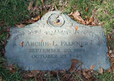 FALKNER, ARCHIE L. - Saline County, Arkansas | ARCHIE L. FALKNER - Arkansas Gravestone Photos