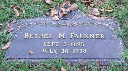 FALKNER, BETHEL M. - Saline County, Arkansas | BETHEL M. FALKNER - Arkansas Gravestone Photos