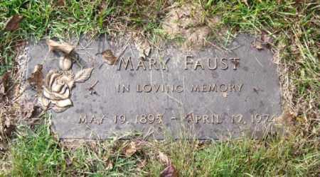 FAUST, MARY - Saline County, Arkansas | MARY FAUST - Arkansas Gravestone Photos