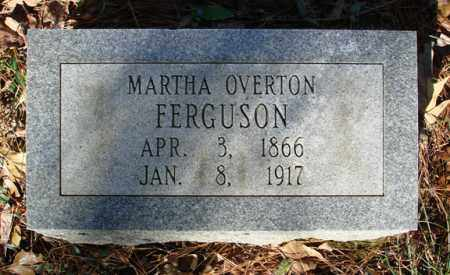 FERGUSON, MARTHA OVERTON - Saline County, Arkansas | MARTHA OVERTON FERGUSON - Arkansas Gravestone Photos