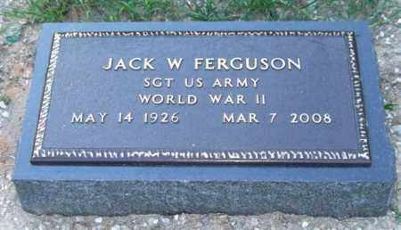 FERGUSON (VETERAN WWII), JACK WINTON - Saline County, Arkansas | JACK WINTON FERGUSON (VETERAN WWII) - Arkansas Gravestone Photos