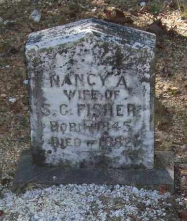 FISHER, NANCY A. - Saline County, Arkansas | NANCY A. FISHER - Arkansas Gravestone Photos