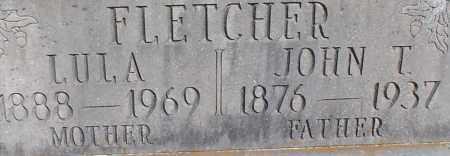 FLETCHER, LULA (CLOSEUP) - Saline County, Arkansas | LULA (CLOSEUP) FLETCHER - Arkansas Gravestone Photos