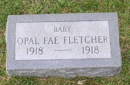 FLETCHER, OPAL FAE - Saline County, Arkansas | OPAL FAE FLETCHER - Arkansas Gravestone Photos