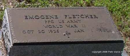 FLETCHER (VETERAN WWII), EMOGENE - Saline County, Arkansas | EMOGENE FLETCHER (VETERAN WWII) - Arkansas Gravestone Photos
