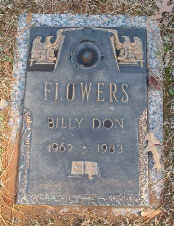 FLOWERS, BILLY DON - Saline County, Arkansas | BILLY DON FLOWERS - Arkansas Gravestone Photos