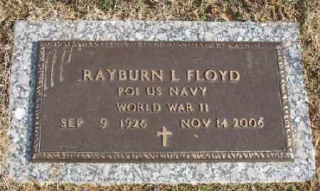 FLOYD (VETERAN WWII), RAYBURN L - Saline County, Arkansas | RAYBURN L FLOYD (VETERAN WWII) - Arkansas Gravestone Photos