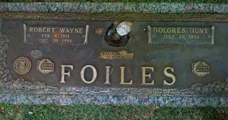 "FOILES, ROBERT WAYNE ""BOB"" - Saline County, Arkansas 