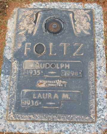 FOLTZ, RUDOLPH - Saline County, Arkansas | RUDOLPH FOLTZ - Arkansas Gravestone Photos