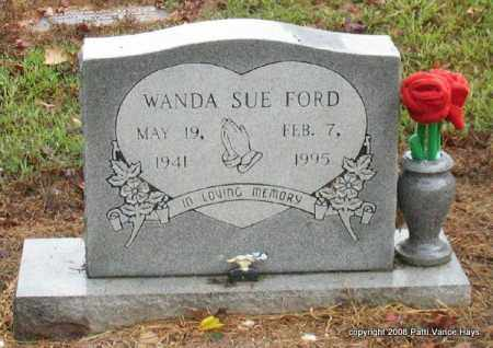 FORD, WANDA SUE - Saline County, Arkansas | WANDA SUE FORD - Arkansas Gravestone Photos