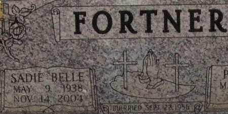 FORTNER, SADIE BELLE (CLOSEUP) - Saline County, Arkansas | SADIE BELLE (CLOSEUP) FORTNER - Arkansas Gravestone Photos