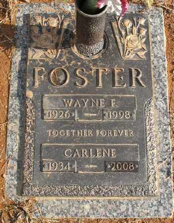FOSTER, CARLENE - Saline County, Arkansas | CARLENE FOSTER - Arkansas Gravestone Photos