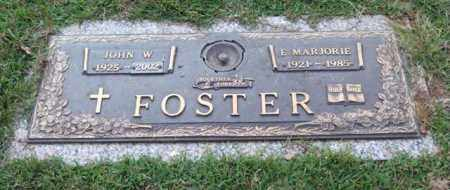 FOSTER, JOHN W. - Saline County, Arkansas | JOHN W. FOSTER - Arkansas Gravestone Photos