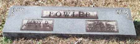 FOWLER, ADA L. - Saline County, Arkansas | ADA L. FOWLER - Arkansas Gravestone Photos