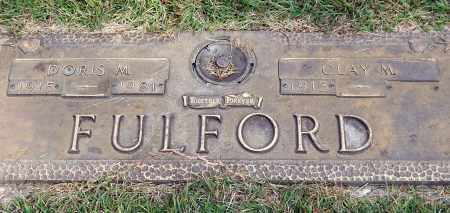 FULFORD, CLAY M. - Saline County, Arkansas | CLAY M. FULFORD - Arkansas Gravestone Photos