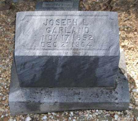 GARLAND, JOSEPH L. - Saline County, Arkansas | JOSEPH L. GARLAND - Arkansas Gravestone Photos
