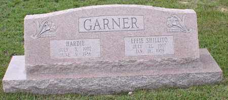 SHILLITO GARNER, EFFIE - Saline County, Arkansas | EFFIE SHILLITO GARNER - Arkansas Gravestone Photos