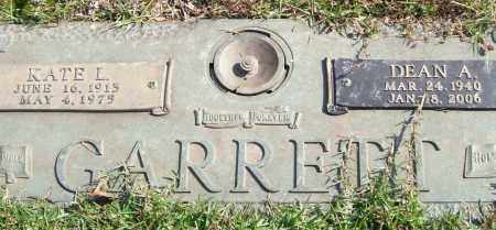 GARRETT, KATE L. - Saline County, Arkansas | KATE L. GARRETT - Arkansas Gravestone Photos